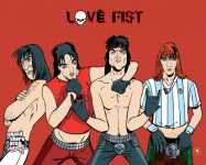 Artwork Love Fist