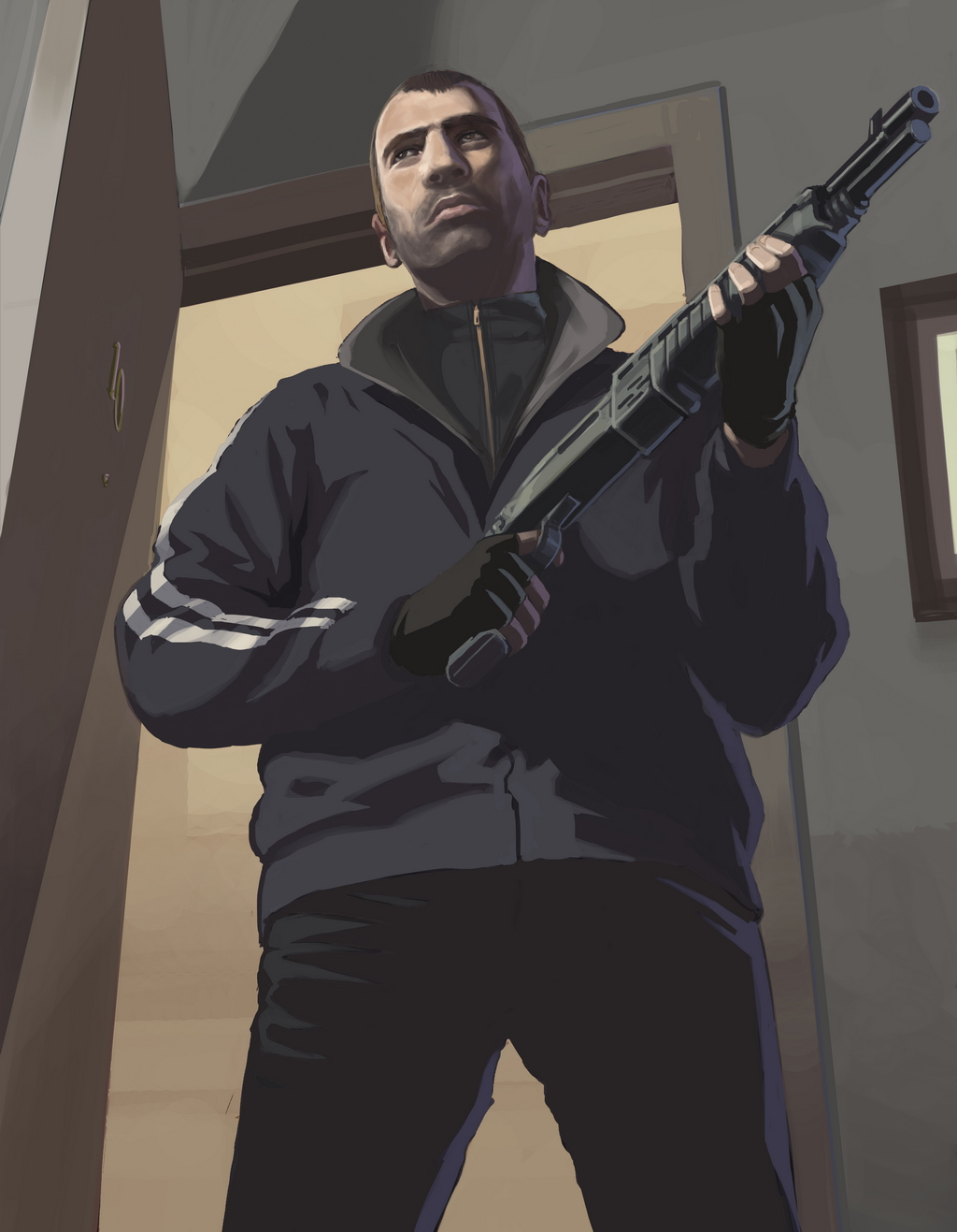 Artwork Niko Bellic