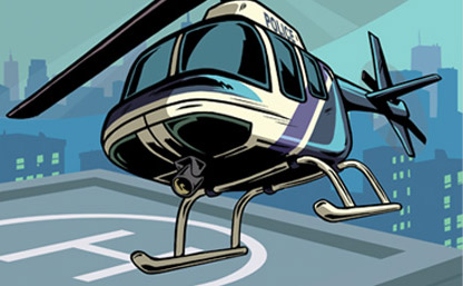 Artwork Helikopter